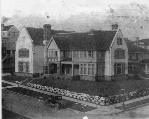 New Psi U house 1925